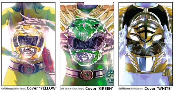 2016 Power ranger Comics 2