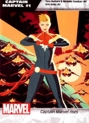 Captain Marvel 1 new