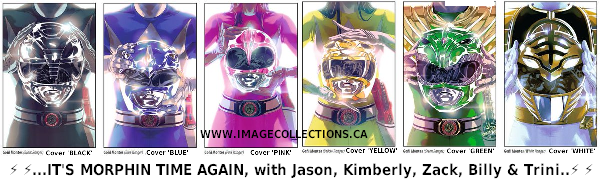 POWER RANGER COMIC 6