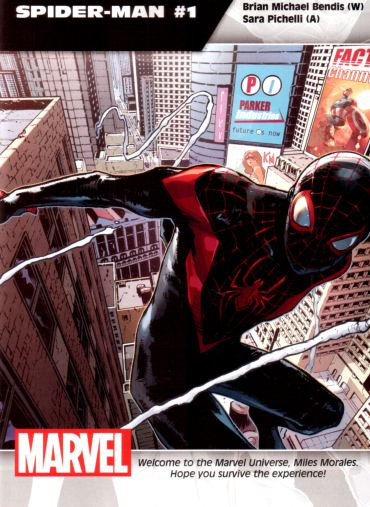 Spiderman 1 new