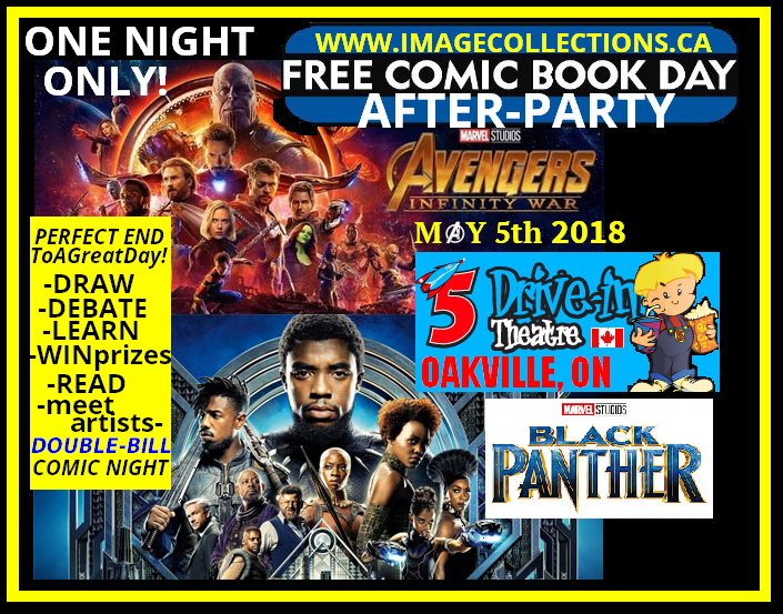 AFTERPARTY FREE COMIC BOOK DAY AVENGERS