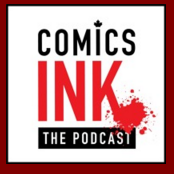 Comics INK podcast logo