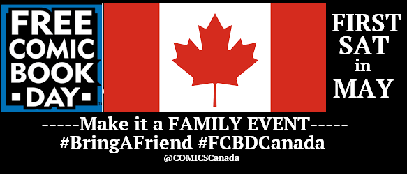 FREE COMIC BOOK DAY CANADA header