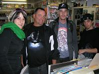 24 Hour Comic Book Day 2008 Artists at Image Collections Art Group at comic store Toronto Mississauga Streetsville 2