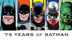 75 Years of Batman Comics