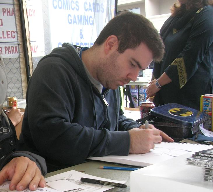 Adam Gorham artist 2008 free comic book day