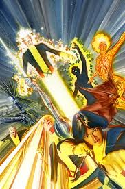 Alex Ross New Mutants Poster toronto comic stores Image Collections