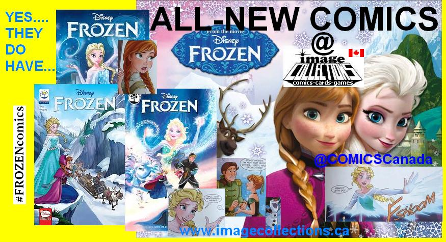 All Ages FROZEN comics