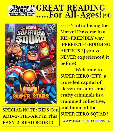 All Ages SUPERHERO SQUAD COMICS