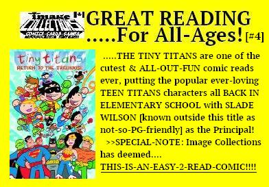 All Ages TINY TITANS COMICS