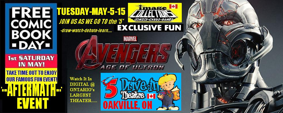 Avengers 2 Age of Ultron 5 Drive-in Image Collections Movie Event Free Comic Book Day 2015