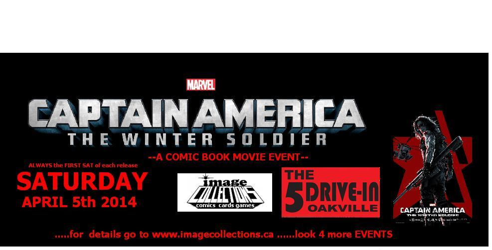 Captain America The Winter Soldier 5 Drive In Image Collections MARVEL Movie Event