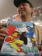 Daniel Wong AVRO Arrow Comic Artist at Image Collections comics toronto mississauga comicbooks Spent Pencils 33cMINI