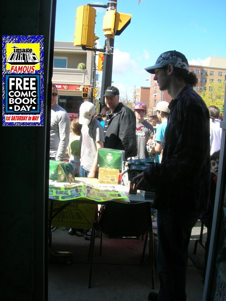 Free Comic Book Day 2011 Image Collections Comic Store fun ontario canada Its all about the cool people ESPECIALLY the cool door people f