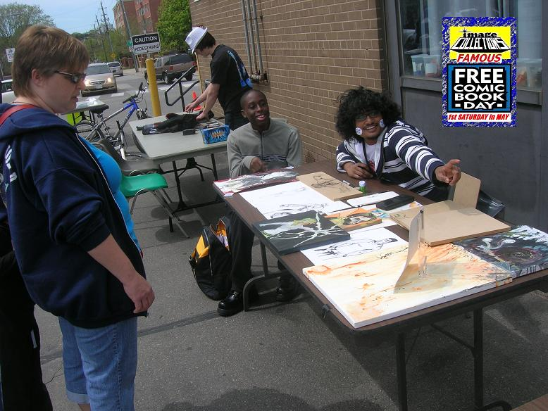 Free Comic Book Day 2012 at Image Collections in Streetsville Mississauga Ontario Canada 6 f