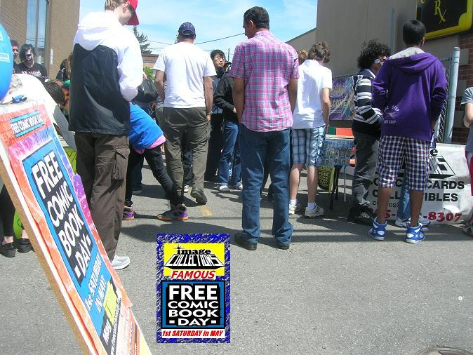 Free Comic Book Day 2012 at Image Collections in Streetsville Mississauga Ontario Canada 9 f