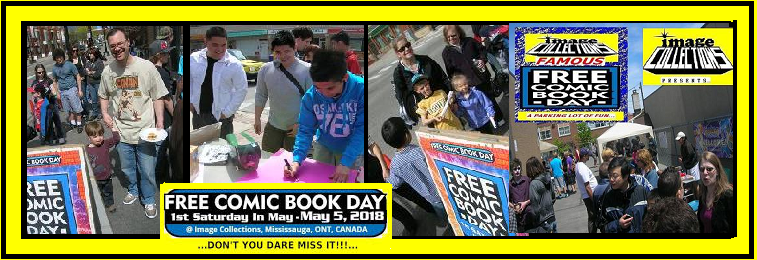 Free comic book day toronto