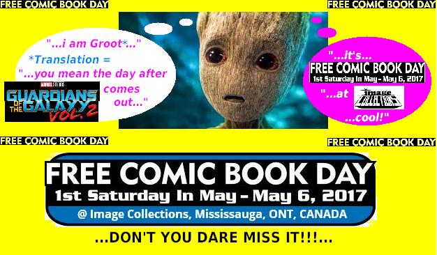Guardians of the Galaxy Free Comic Day
