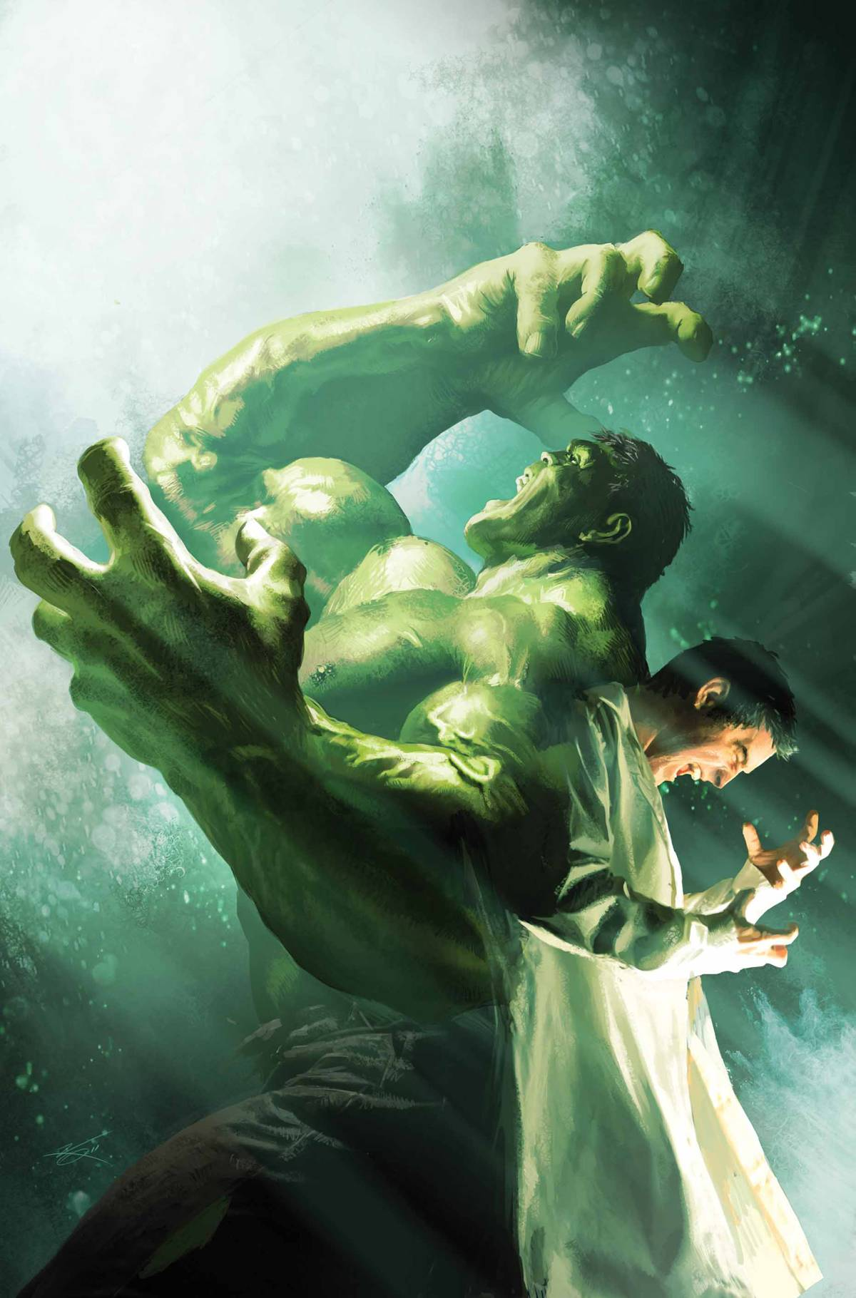 Incredible Hulk poster by Michael Kormarck