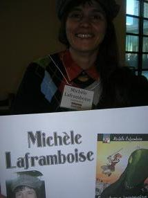 Michele Laframboise Artist Graphic Designer at Image Collections comic store Mississauga Streetsville