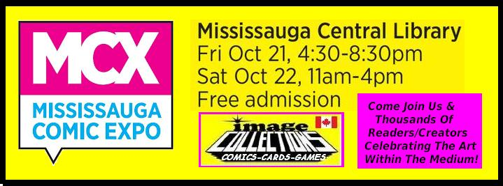 Mississauga Comics Expo MCX 2016