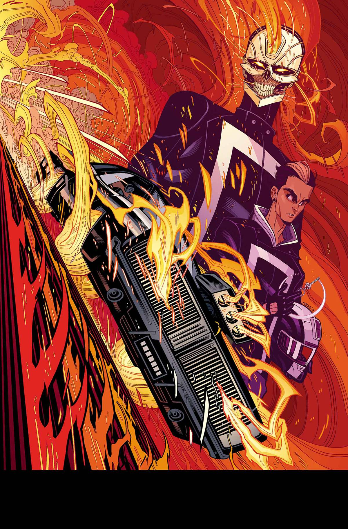 ALL NEW GHOST RIDER 1 POSTER