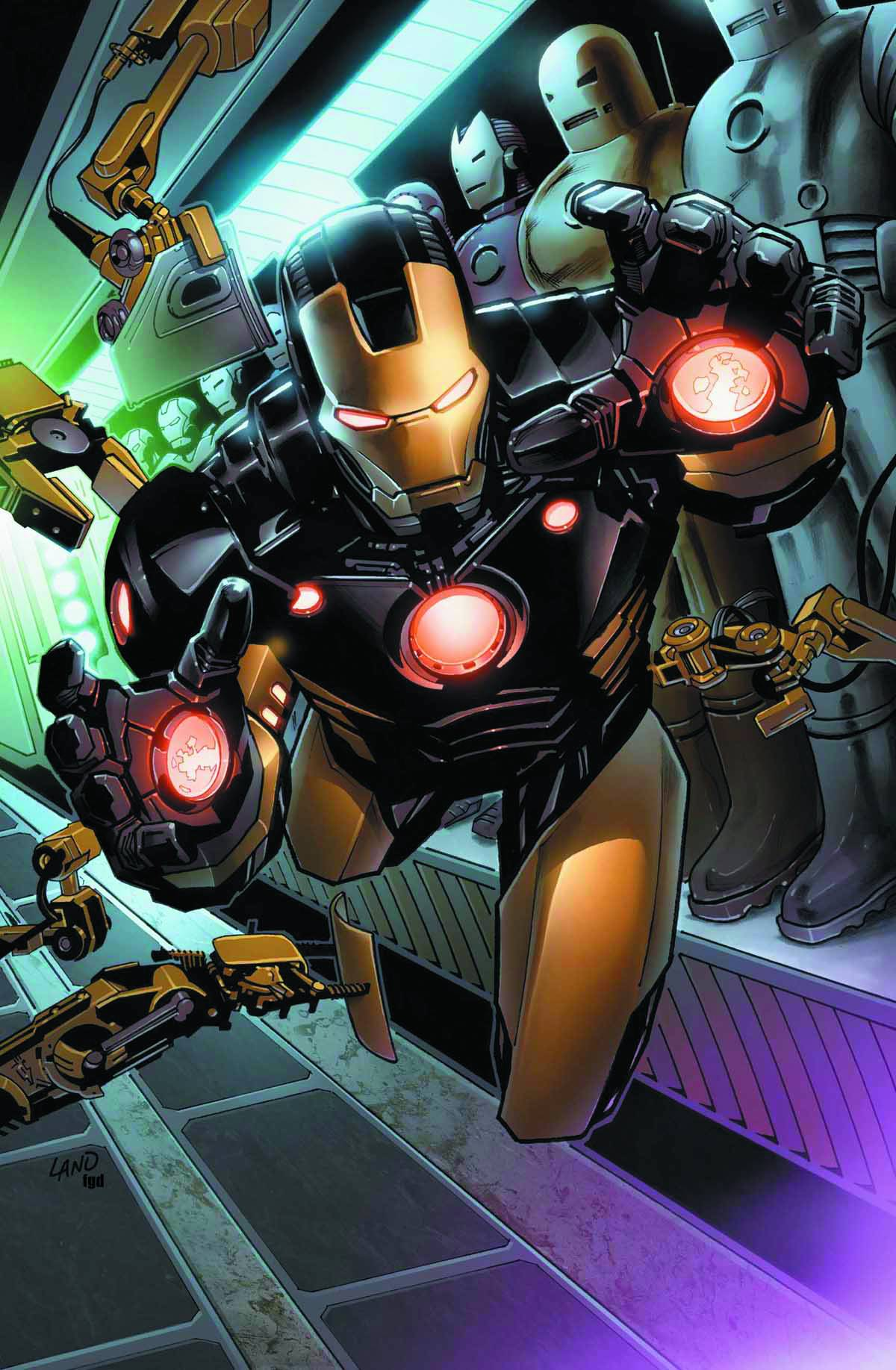 IRON MAN BY GREG LAND POSTER NOW
