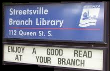 STREETSVILLE LIBRARY WHERE