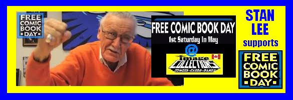 Stan Lee supports Free comic book day