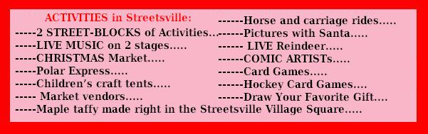 Streetsville christmas in the village Red 2