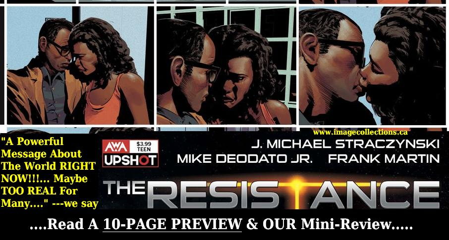 THE RESISTANCE comic ad POW 2 prev