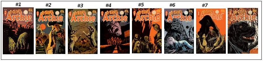 after life with archie comic set