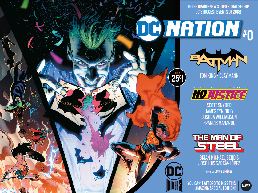 dc Nation 25 cent comic