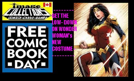 free comic book day at image comics WONDER WOMANS NEW COSTUME