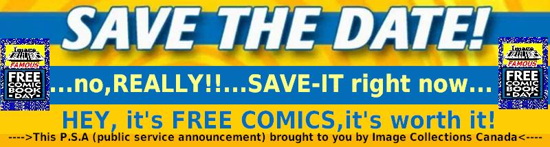 save the date free comic day